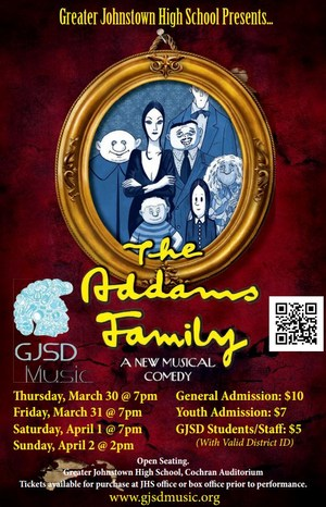 The Adams Family Musical at GJHS