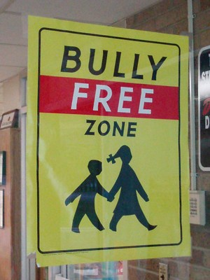 Bully Free Sign