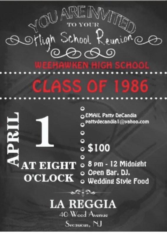 WHS Class of 1986 Reunion