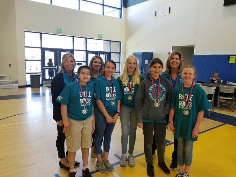 Dartmouth Battle of the Books Team at District Competition