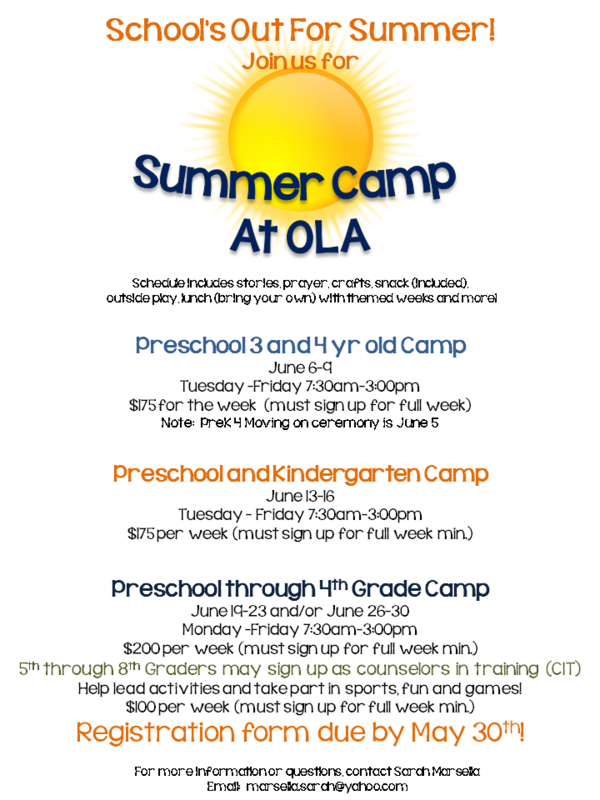 OLA Summer Camp Thumbnail Image
