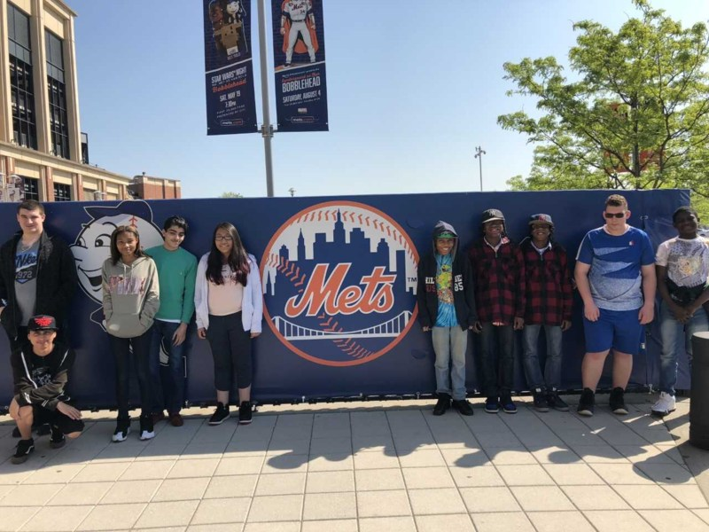 Ms. DeForest / Ms. Gaudioso's Class Takes CitiField Private Tour Featured Photo
