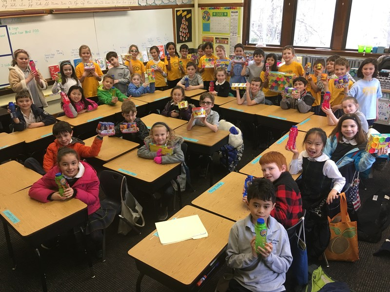Second Grade Horizons for the Homeless Service Project Featured Photo