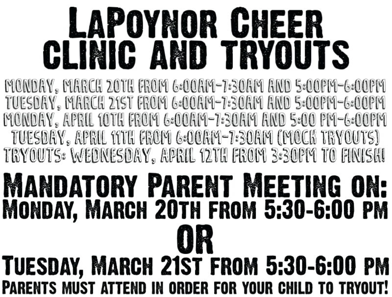 Cheer Tryouts - Update Thumbnail Image