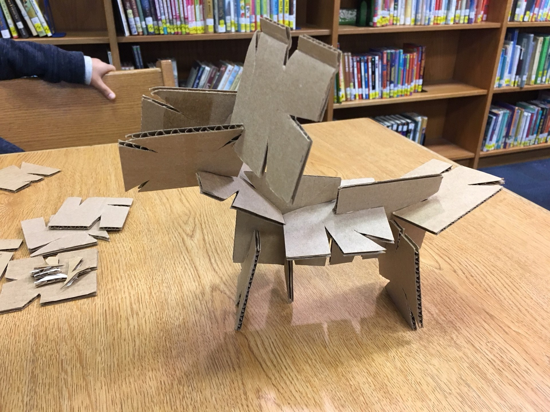 Makerspace Challenge - Creative Cardboard
