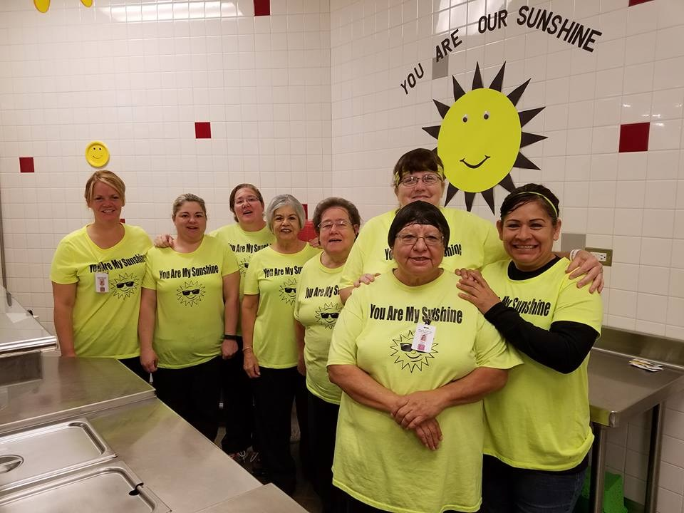 Food Services Staff at Lamar Elementary