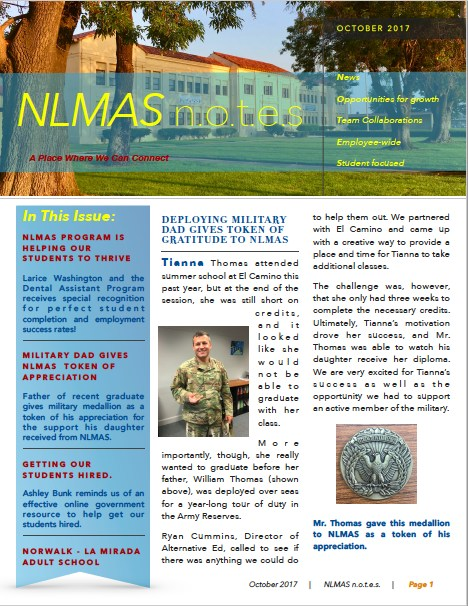 NLMAS n.o.t.e.s for October 2017! Featured Photo