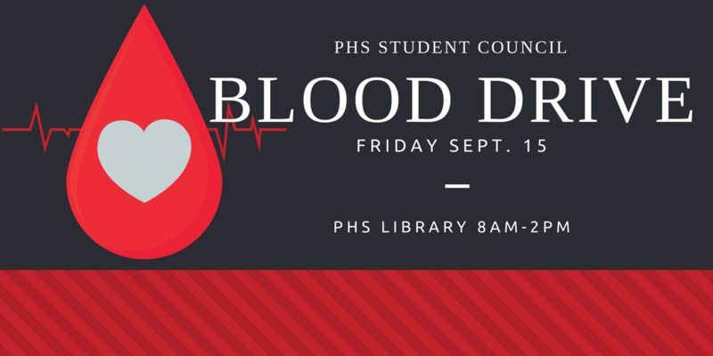 Blood Drive this Friday in the library