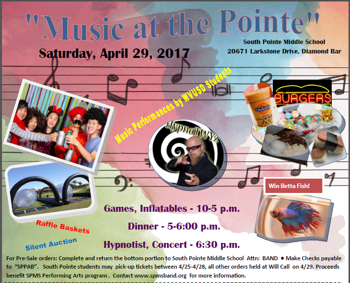 It's Time for Music at the Pointe! Featured Photo