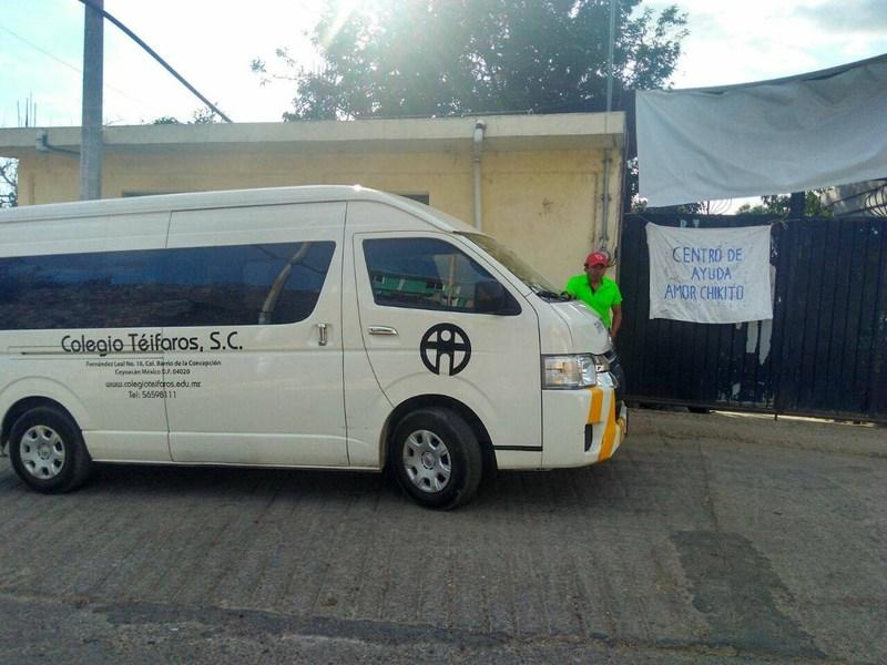 Colecta para los afectados del sismo Featured Photo