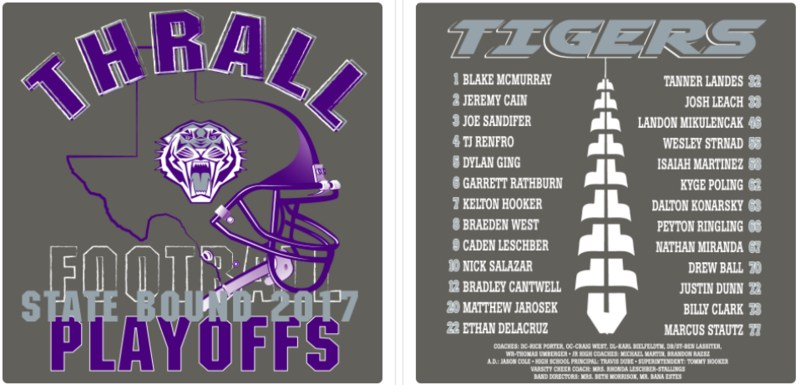 Football Playoff T-Shirts Available THURSDAY Thumbnail Image