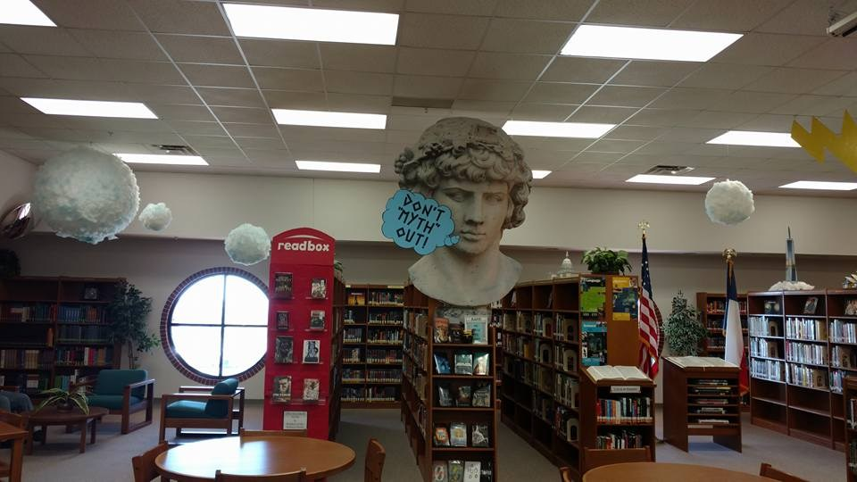Dont Myth Out themed library