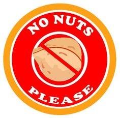 No nuts please