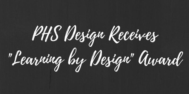 PHS Design Receives