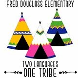 logo of Two Tribes with teepees