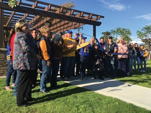 Alumni Park Ribbon Cutting Commemorates Generations of EUHS Graduates