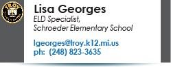 Lisa Georges email