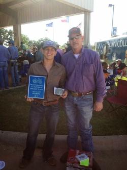 Ryan Villarreal with instructor Buddy Smith 5_6_15.jpg