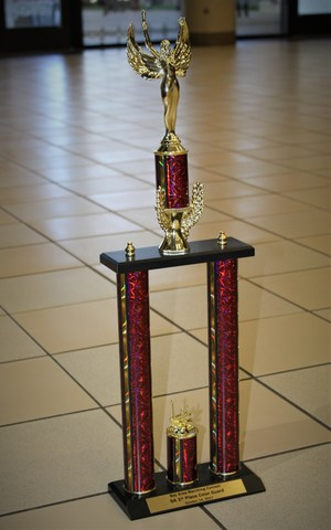 v w h s color guard best in class trophy