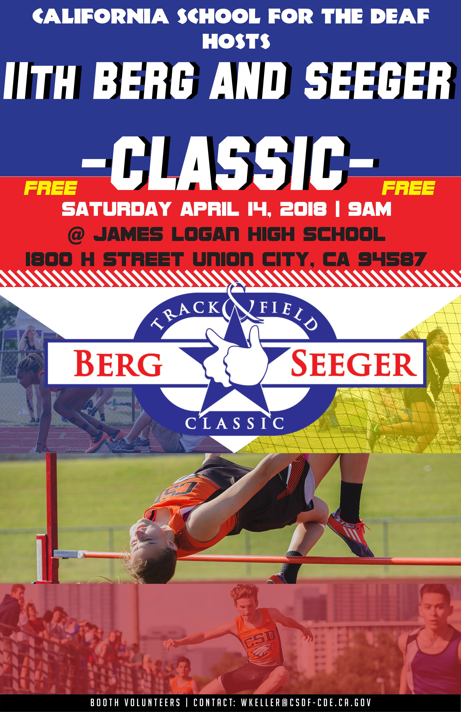 11th Berg Seeger Classic flyer