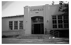 A photo of Garfield School