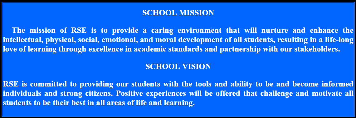 RSE Mission Statement and Vision