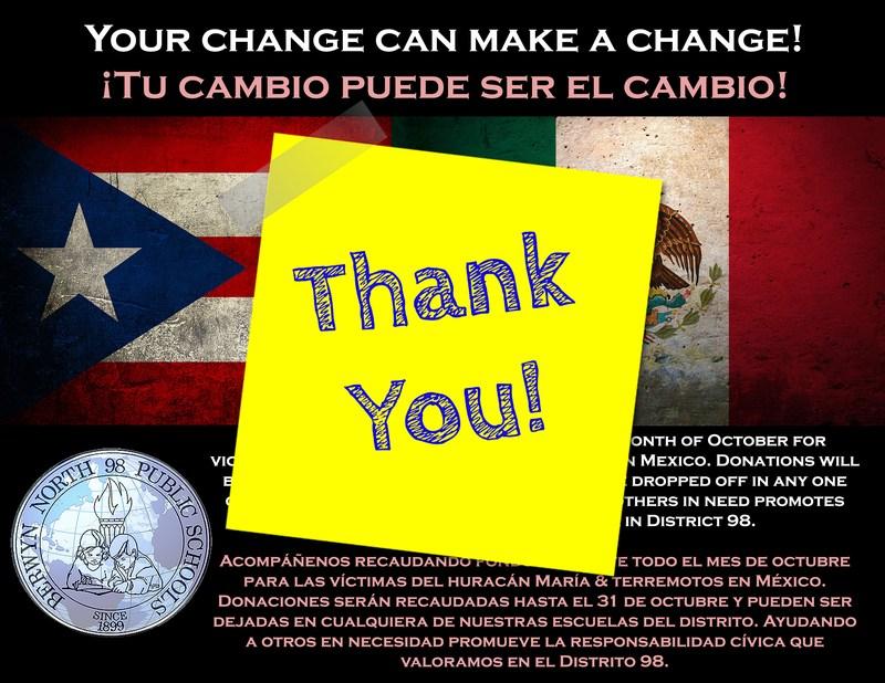 District 98 Fundraiser / Recaudación de fondos Thumbnail Image
