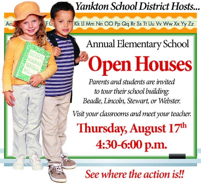 Elementary Open Houses Thumbnail Image