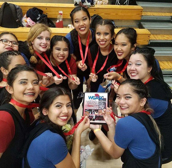 Congratulations Winter Guard Champions!  Winners of 4 medals in 4 years! Thumbnail Image
