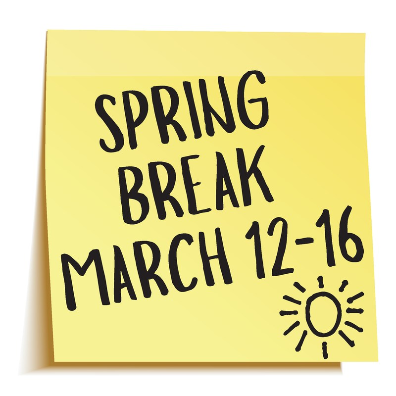 Reminder: March 12-16 is Spring Break! All LCISD campuses will be closed. Thumbnail Image