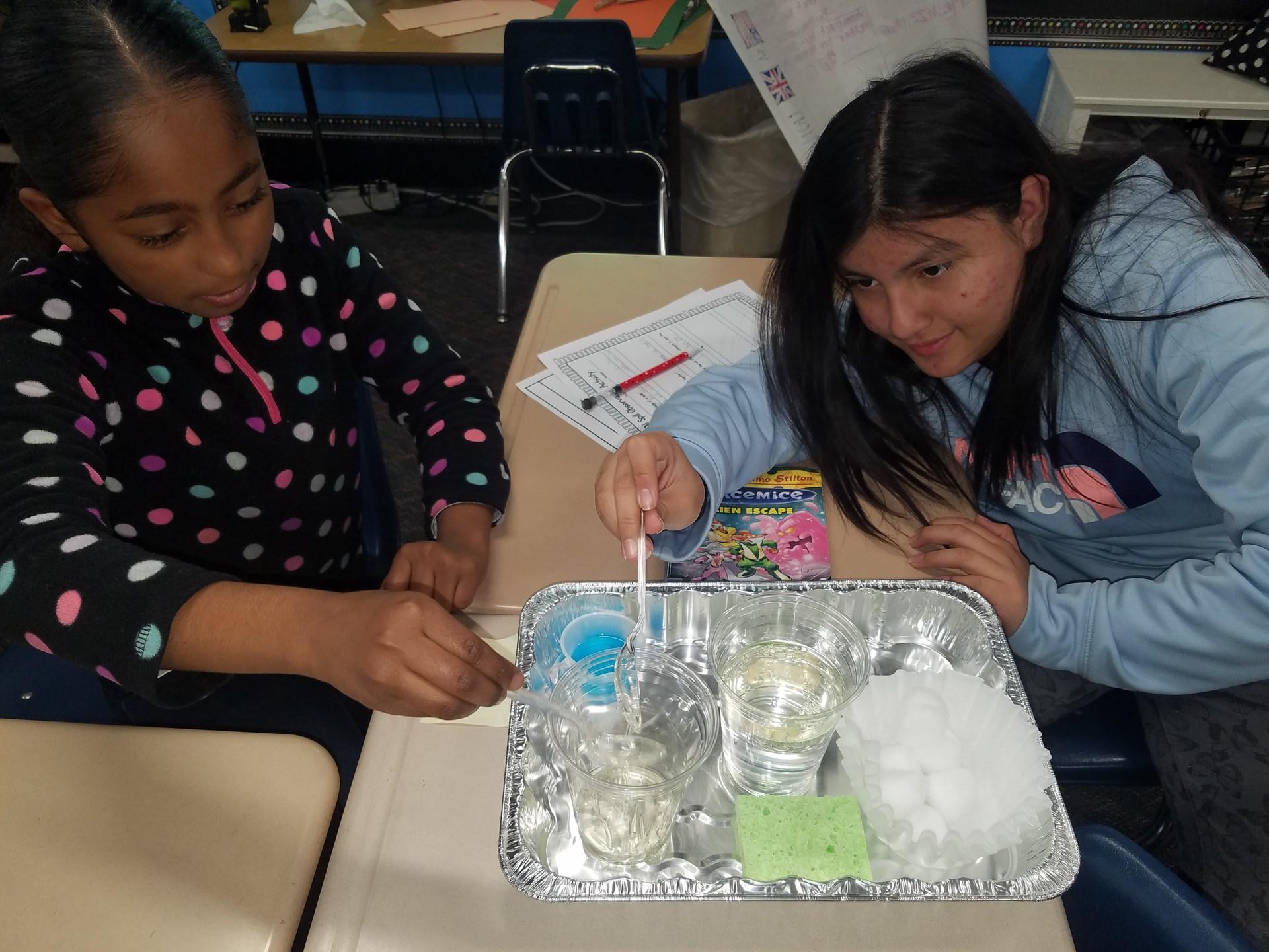 STEM- OIl vs Water