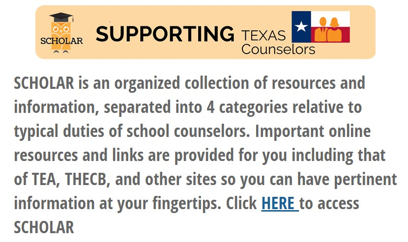 Supporting Texas Counselors
