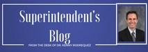Superintendent's blog