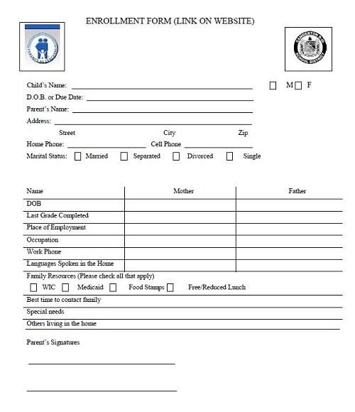 PAT Enrollment Form