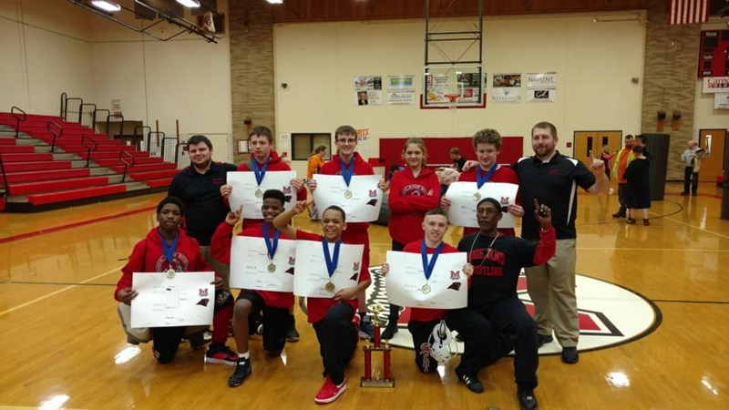 Wrestling Team WINNERS!!! Thumbnail Image