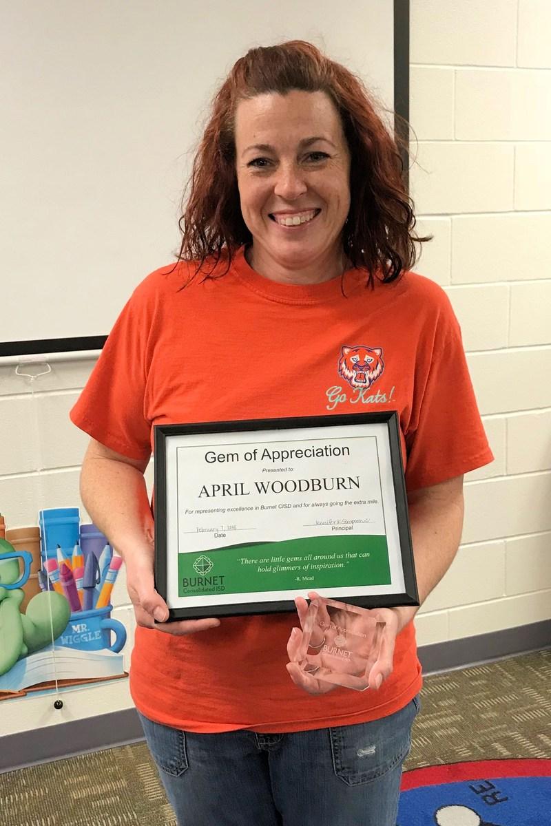 April Woodburn - Bertram Elementary Thumbnail Image