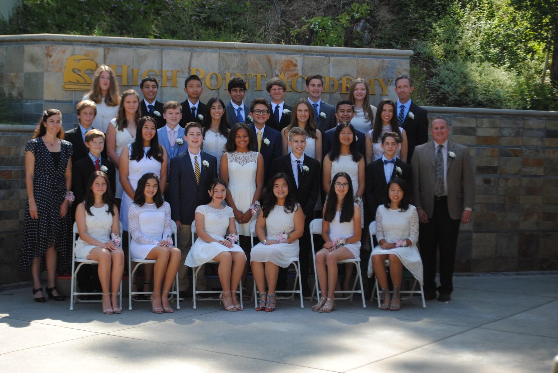 High Point Academy Alumni students.