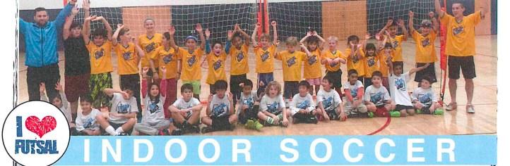Futsalkingz Indoor Soccer - Jan - Mar 2018