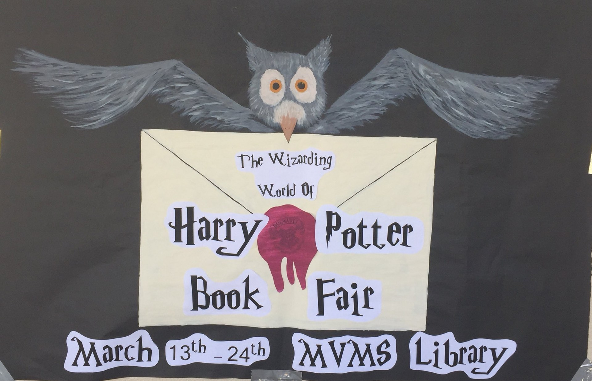 Harry Potter Book Fair Poster