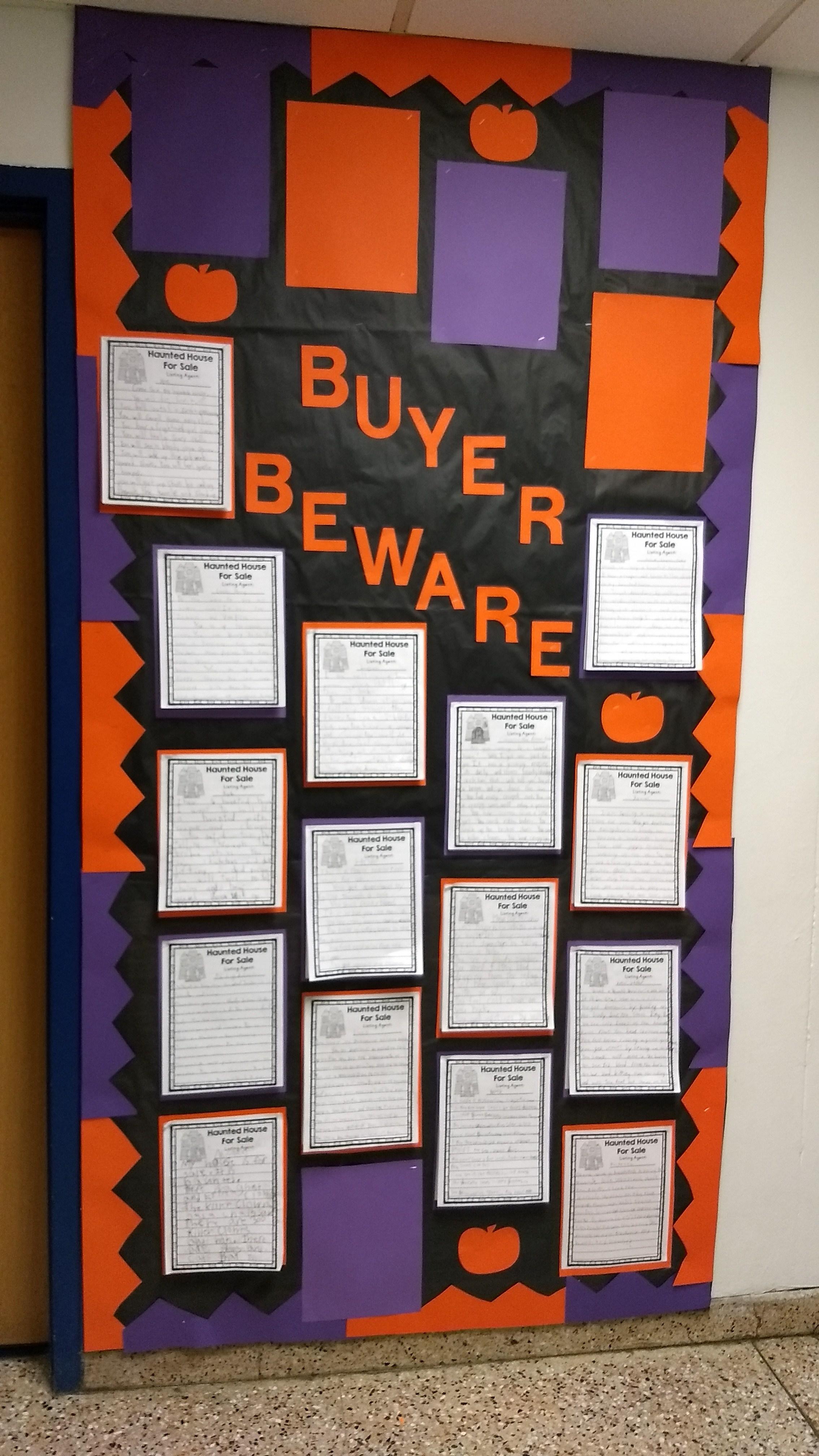 Halloween Bulletin Board – Jill Masuk – St. Lawrence Central ...