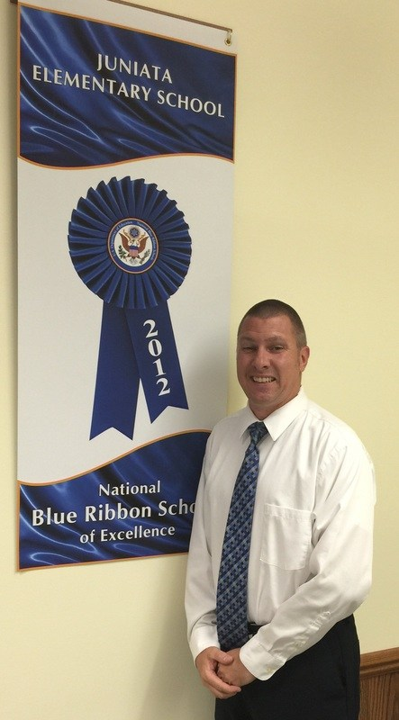 Mr. Dambeck with the 2012 National Blue Ribbon Award