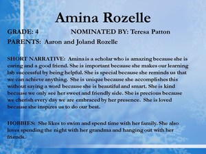 scholar Amina Rozelle