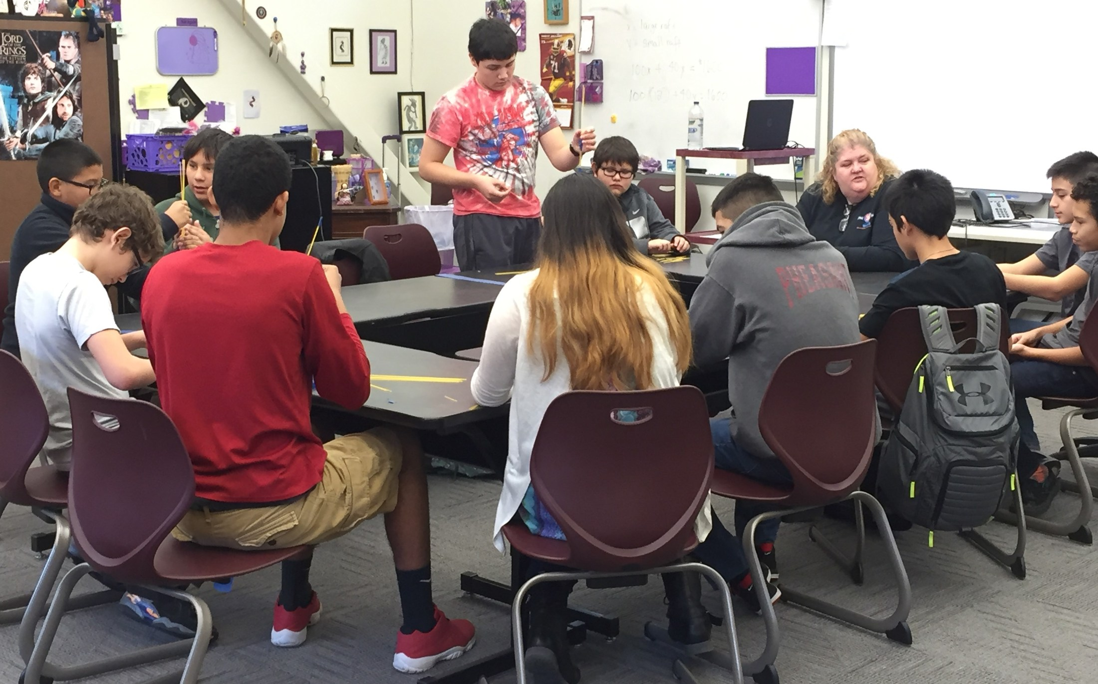CMS Students Learn About AISES Science Fair Opportunities