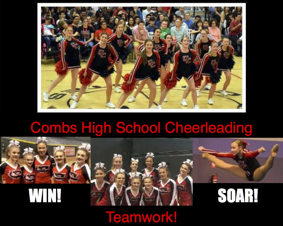 CHS Cheer flyer