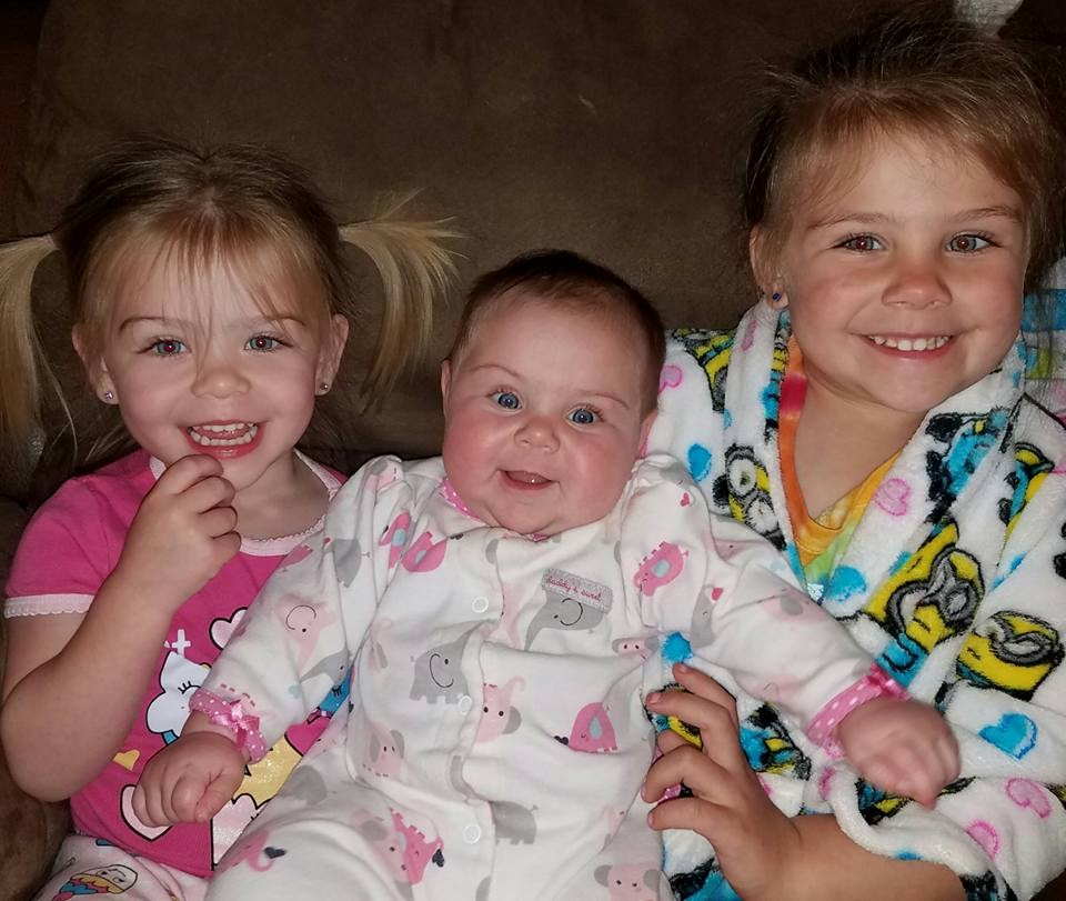 All three daughters