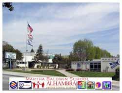 A photo of Martha Baldwin School