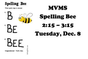 Spelling Bee December 12