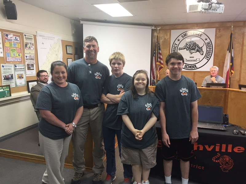 Special Olympians Highlighted at School Board Meeting Thumbnail Image