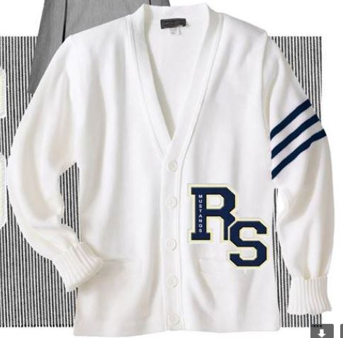 St. Mary Letter Sweaters are now available to any student who have earned  their varsity letter. The letter will be placed in the lower left corner of  the