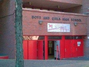 Picture of the front of Boys and Girls High School
